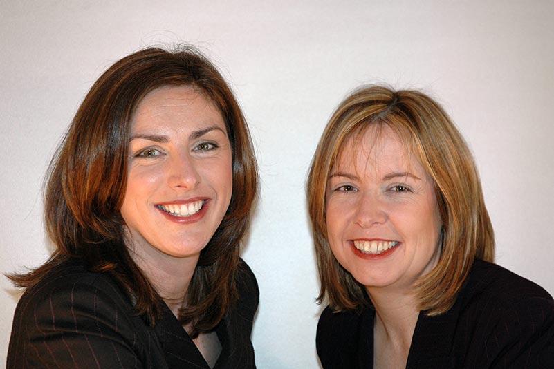 Máire Kearns and Deirdre Fox, Directors of Blue Sky Training